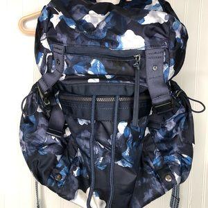 Lulemon Athletica Large Blue Print Backpack